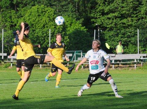 MÅLSHOW: Jonas Johansen stoppet ikke før han hadde scoret seks.