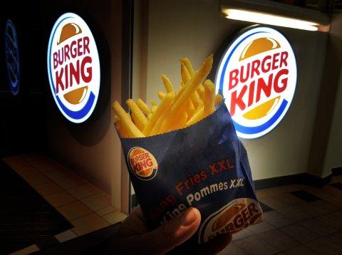 REAGERER: En kunde ved Burger King på Grelland reagerer på renholdet på stedet. Dette illustrasjonsbildet er tatt i en annen sammenheng.