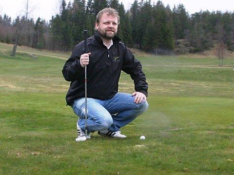 Daglig leder i Drøbak Golfklubb er fornøyd etter nok en god sesong.