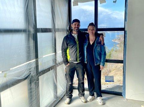 Rita Helene Marki og Benjamin Grønvold er radarparet som snart sysselsetter seksti mennesker på Nesodden.