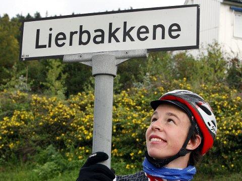 Intervaller: Vegard Stake Laengen ved Lierbakkene i 2009. Her har han trent mye.