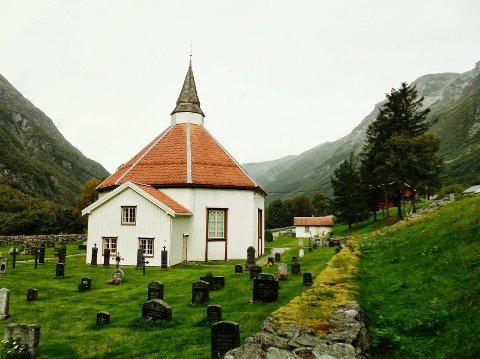 Romfo kirke: Åpen skjærstorsdag.
