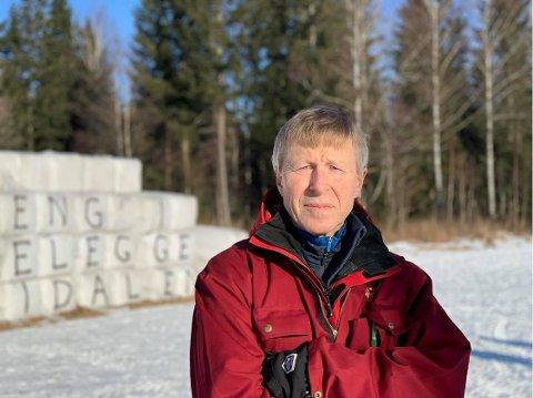 Per Skorge er leder for forpakterutvalget i Maridalen. Nå har  han fått mer tid til å kjempe for familier som har leid gårdene i årtier.