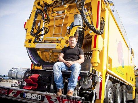 STIFTA NYTT SELSKAP: Kenneth Birkeland, som er dagleg leiar for Norva24 vest AS, har etablert selskapet Kenneth Birkeland invest AS. Arkivfoto: Yngve Garen Svardal