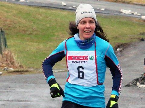 Grethe Jørgensen var raskaste kvinne for 41. gong ved karusellen på Eikanger laurdag.