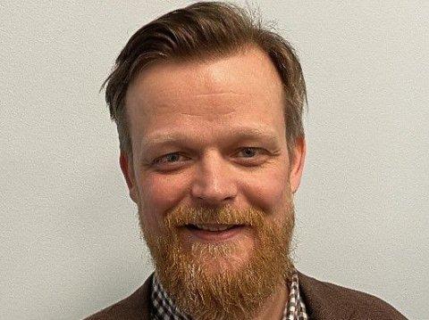 Ny sjef: Robert Isaksen er ny daglig leder for KS Nordland. Pressefoto
