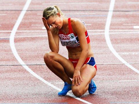 Her depper Vilde Svortevik i Zürich-EM 2014. – I dag ser jeg annerledes på det mesterskapet. En får et annet perspektiv etter mye skader, sier hun til BA.