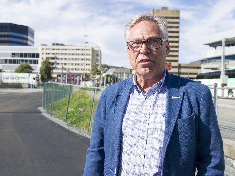 Harald Tiedemann Hansen er i hardt vær igjen.