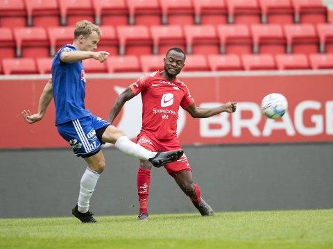 Gilbert Koomsons 1-1-scoring var høydepunktet i Branns 3-2-seier over Lysekloster.