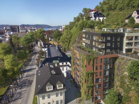 Dette prosjektet går så det suser. Av 52 leiligheter har meglerhuset allerede solgt 23, og det uten å markedsføre dem.