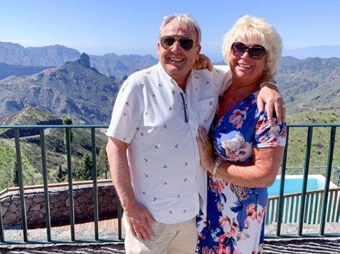 – For oss er ikke Gran Canaria bare sol og varme, men like mye natur og opplevelser, sier Syden-veteranene Dan Frode Pedersen og konen Janice. Her besøker de byen Tejeda som ligger i tusen meters høyde.