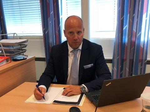 FORSVARER: Advokat Anders Green kan ikke si noe om grunnen til at hans klient ikke ønsker å forklare seg.