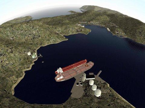 Illustrasjonsfoto. Slik ser Nordkapp  Havn KF for seg hvordan utbyggingen i Kobbhullet skal se ut.
