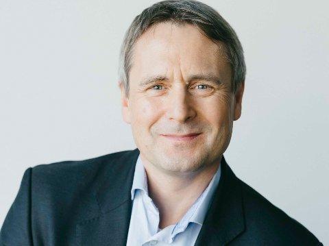 Stein Nilsen, administrerande direktør i Widerøe.