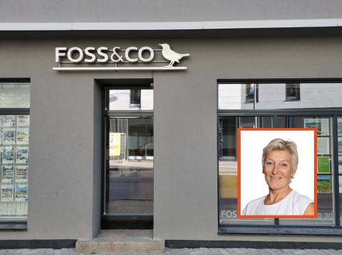 Eiendomsbransjen seiler i medvind. Det samme gjør Kari-Mette Wernersen, daglig leder i Foss & Co.