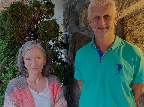 Marit Høie og Per Steinskog er blant de som har engasjert seg sterkt mot rådmannens forslag om å la være å utvide kirkegården i Dirdal, til fordel for en billigere urnelund.