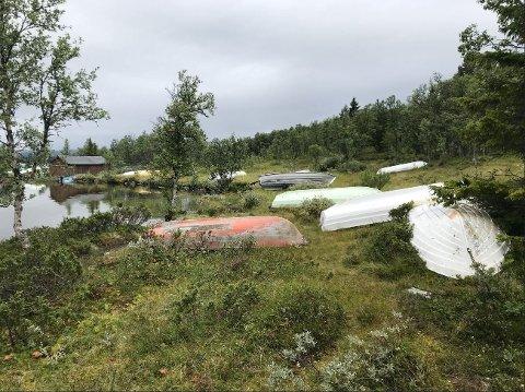 Nye båtplasser på Sel-sida er en av løsningene som nå planlegges for å få gjort noe med båt-problematikken ved Furusjøen på Kvamsfjellet. Velforeningen i området mener konfliktnivået nå øker.
