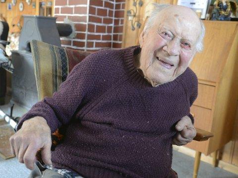 Hans Karlsen Bråten fra Jevnaker blir 100 år 24. april.