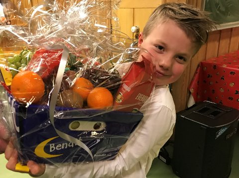 DELER KANSKJE: Even Hval Granlund (7) vant fruktkurven.