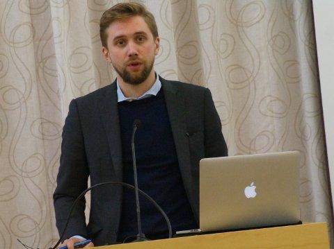 PLASSEN GLAPP: Lasse Lehre får ikke fast plass i fylkestinget i Viken, men regner med mange møter som 2. vararepresentant.