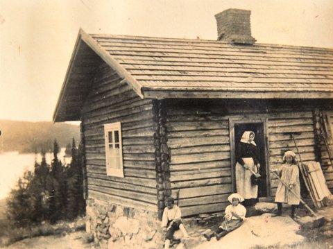 1899: De første hytteturister ved Mylla.
