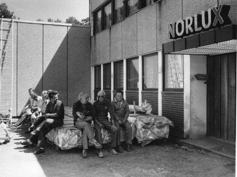 Ventet: De ansatte ved Norlux følte de var satt på pinebenken, der de ventet på en avklaring slik at de kunne gjenoppta arbeidet. Arkivfoto: Arild Brunvand