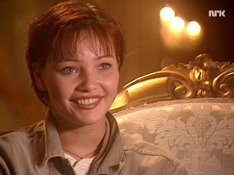 DEN ORDENTLIGE: Gina på TV i 1995. – Jeg fikk rollen som «den ordentlige» under TV-serien.