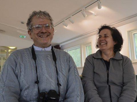 Det italienske ekteparet Giovanni Grosskopf og Caterina Azara er i Norge for første gang, men har vært fascinert av landet lenge.