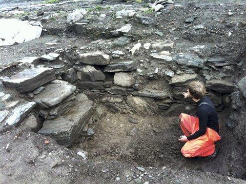 AVALDSNES: Utgravingen kan nå fullføres.