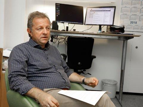 LEDER: Jan Kvalevaag, underkontorleder og personalleder for Rogaland friomsorgskontor.