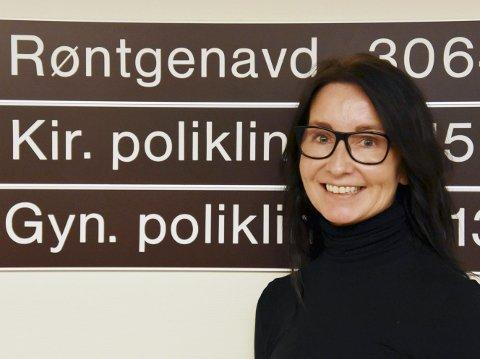 Rachel Berg er enhetsdirektør ved Helgelandssykehuset Sandnessjøen