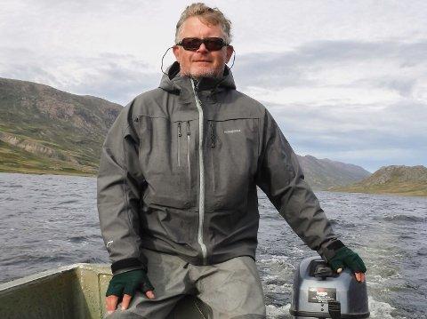 SOM ALTA: - Personlig håper jeg Repparfjord blir like stor som Altaaksjonen, sier Jens Olav Flekke i Redd Villaksen.