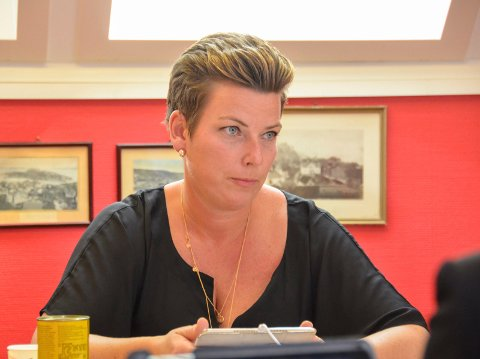 INNSTILT SOM FYLKESLEDER: Henriette Fluer Vikre var innstilt av valgkomiteen som kandidat til ledervervet i Telemark Frp. Men i et ekstraordinært møte i komiteen ble hun byttet ut med Lars Lindskog fra Skien. (Arkivfoto)
