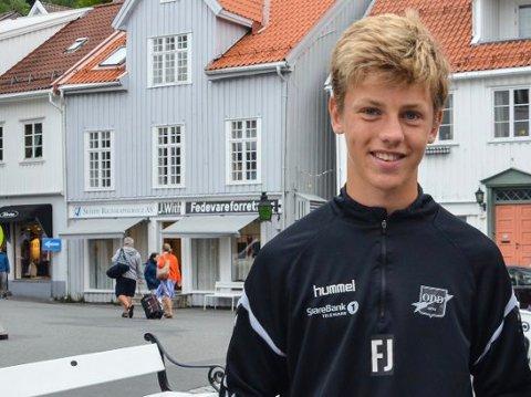 Filip Rønningen Jørgensen bidro til Odd 2s 2-1-seier borte mot Sotra.