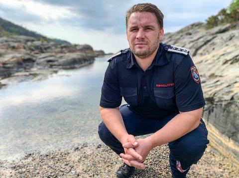 ANSETTER: Brannsjef Morten Meen Gallefos ruster opp for nytt redningsvesen i Bamble, Drangedal og Porsgrunn med å ansette en spesialrådgiver.