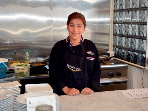 SØKER: Wanida Juritzen søker om skjenkebevilling for Skolegata spiseri. Hun har tidligere drevet Mathuset på Vestsiden.