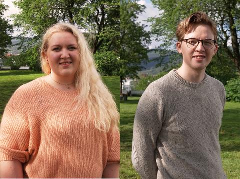 TAR OVER: Marte G. Ødegården blir ny leder for Kongsberg Arbeiderparti - Even A. Røed blir nestleder.