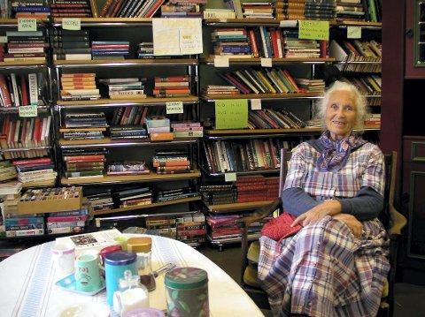 DRIVKRAFT: Anna Sjaavaag har lagt ned mye arbeid i bruktbutikken.
