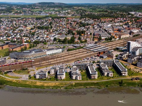 LILLESTRØM: En kommune i sterk vekst. Nå skal de få bistand av Norconsult til planlegging av veier og gang- og sykkelveier.