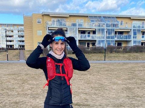 PERSONLIG TRENER: Maria Bachs Bækkedal jobber som selvstendig personlig trener og driver treningskontoen @bachstrening på Instagram.
