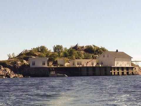 SOLGT: Bilde av lille vakthusøya etter restaureringen i 2014.
