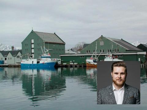 Jonas Walsøe (innfelt) skal ta over som daglig leder hos Berg Seafood AS. Han flytter til Lofoten i slutten av september.