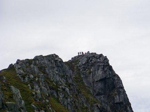Og der var dem på toppen.