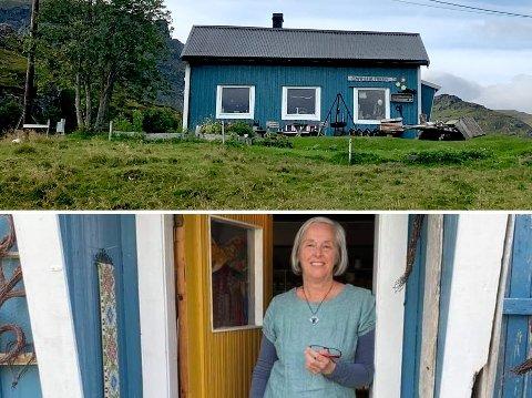 Marit Plener Gran driver gammelbutikken på Krystad.