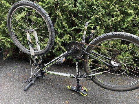 16 SYKLER: Det har vært en rekke sykkeltyverier i Follo den siste tiden. Nå har politiet beslaglagt 16 sykler etter at de pågrep to sykkeltyver tirsdag.