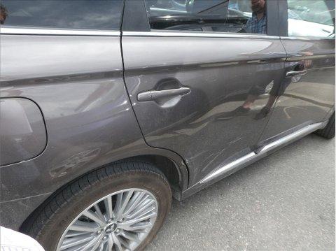 FLEST SKADER PÅ HØYRE SIDE: Forsikringsselskapet If har analysert alle kollisjonsskadene som selskapet håndterer i løpet av et år. Oversikten viser hvilke deler av bilen som blir skadet og trenger reparasjon.