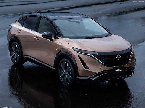 NUMMER TO: Nissan Ariya blir Nissans andre elbil.
