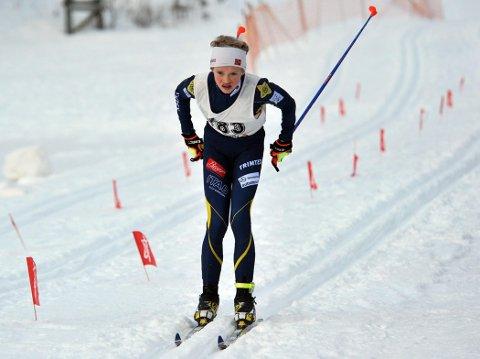PALLEN: Vegard Stokke ble nummer to i Rossignolrennet. Foto: Solfrid Therese Nordbakk