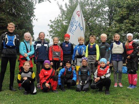 POPULÆR: Bundefjorden Seileklubb er en klubb med mange unge utøvere.