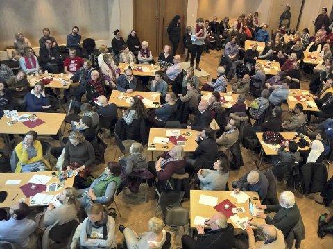 ENGASJERTE: Mange i bydel Østensjø engasjerer seg for å få til god integrering av sine nye naboer fra andre land.
